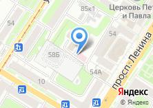 Компания «J» на карте