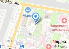 Компания «Тульский областной противотуберкулезный диспансер №1» на карте