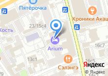 Компания «Тукс» на карте