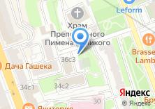 Компания «Автостоянка на ул. Долгоруковская» на карте