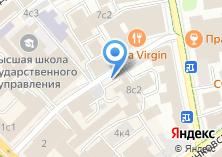Компания «Продовольственный магазин в Настасьинском переулке» на карте