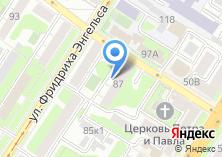 Компания «Фабрика кухни» на карте