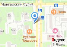 Компания «Автостоянка на Симферопольском бульваре» на карте