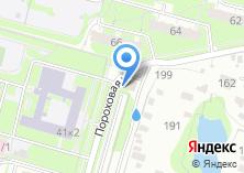 Компания «Автомойка на Пороховой» на карте