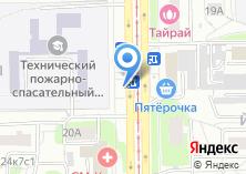 Компания «Магазин фруктов и овощей на Симферопольском бульваре» на карте