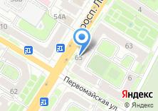 Компания «Магазин ортопедических товаров» на карте