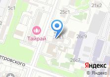 Компания «МосГорУслуга» на карте