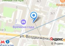 Компания «Товарищ» на карте