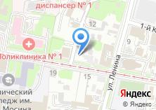 Компания «*наш клиент*» на карте