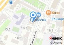 Компания «Полномочное представительство республики Тыва» на карте
