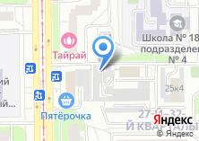 Компания «Гаражно-строительный кооператив №21» на карте