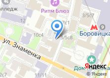 Компания «КосмоПринт» на карте