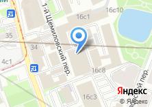 Компания «United Consultants» на карте