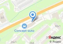 Компания «Виста» на карте