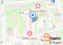 Компания «GMS clinic» на карте