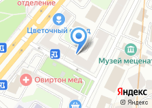 Компания «ОРТ-Мебель» на карте