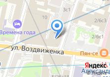 Компания «Москомстройинвест» на карте