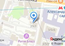 Компания «MaksiOil» на карте