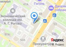 Компания «Роспрофтекстильлегпром» на карте