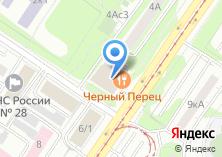 Компания «Салон-парикмахерская на Симферопольском бульваре» на карте