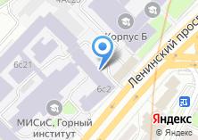 Компания «Черные металлы» на карте