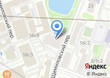 Компания «Строящийся жилой дом по ул. Щемиловский 2-й пер» на карте