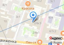 Компания «Больница с поликлиникой при Управлении делами Президента РФ» на карте