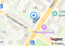 Компания «АКБ ЮГРА» на карте