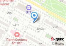 Компания «Автостоянка №41» на карте