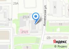 Компания «ЦНИИ–проектирование жилых и промышленных зданий» на карте