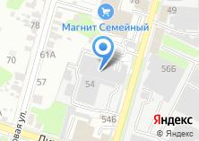 Компания «Тульская макаронная фабрика» на карте