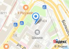 Компания «Корпоративная Защита» на карте