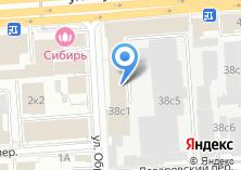 Компания «Информзащита» на карте