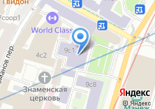 Компания «Москва Курсовая» на карте