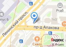 Компания «Пикадилли» на карте