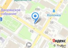 Компания «Новэнта» на карте