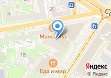 Компания «Мама Mia» на карте