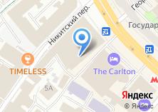 Компания «D`отель» на карте