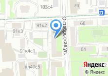 Компания «Фотомастерская на Октябрьской» на карте