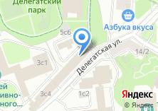 Компания «Мастер связь» на карте