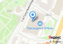 Компания «Президент-Отель» на карте