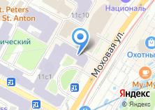 Компания «Российская академия естественных наук» на карте