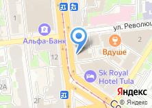 Компания «Биг Эппл» на карте