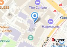 Компания «На Моховой» на карте