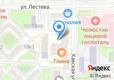 Компания «Красная машина» на карте