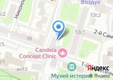 Компания «Тверская» на карте