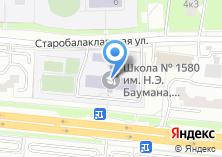Компания «Лицей №1580» на карте