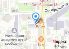 Компания «ВЕРА & ОЛИМП» на карте