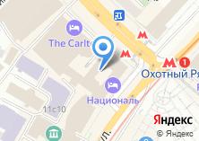 Компания «Националь» на карте