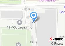 Компания «Останкинский совхоз» на карте